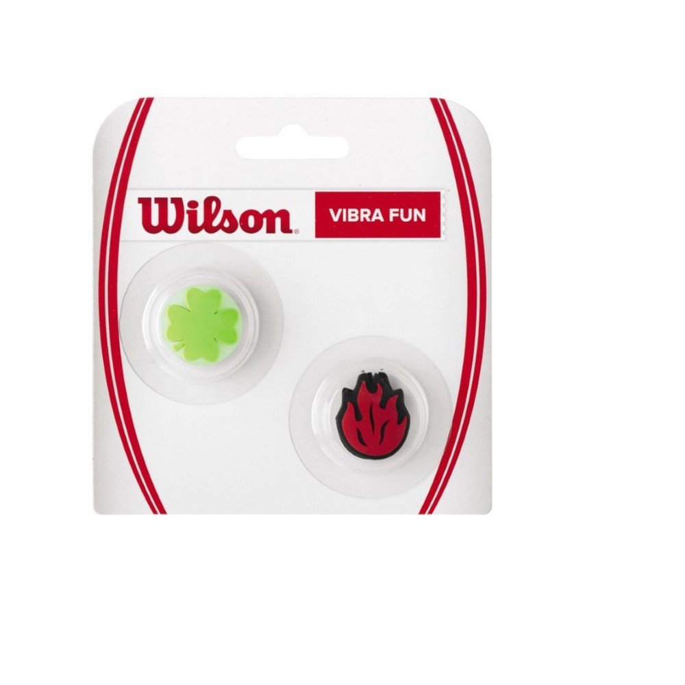 Antivibrador Wilson - Fun - Trevo/Chama