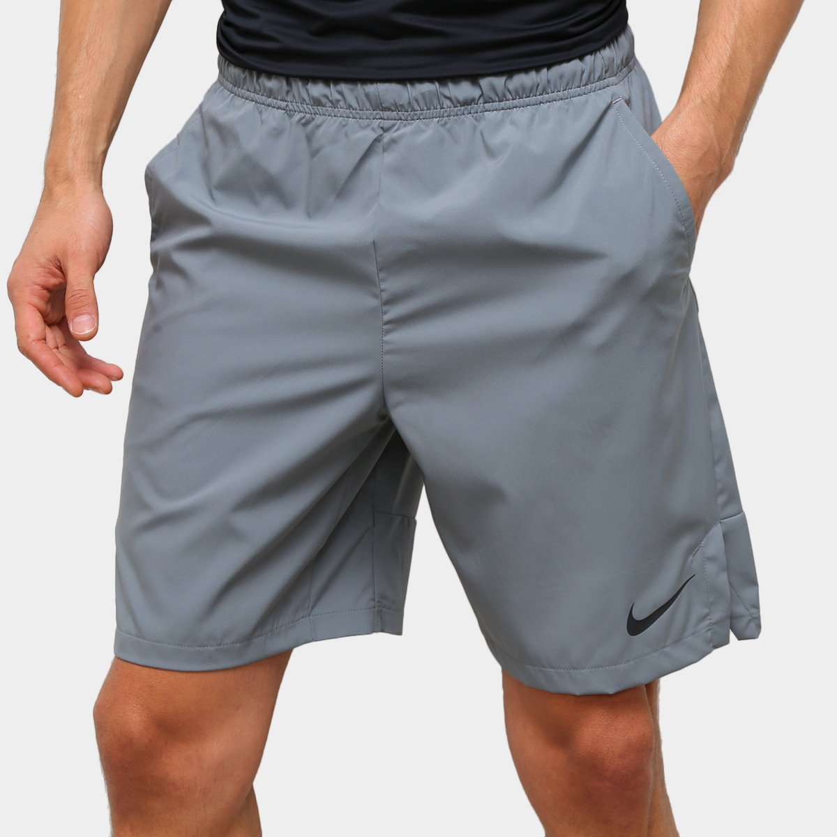 Bermuda Nike Woven 3.0 Masculina - Cinza  - PROTENISTA