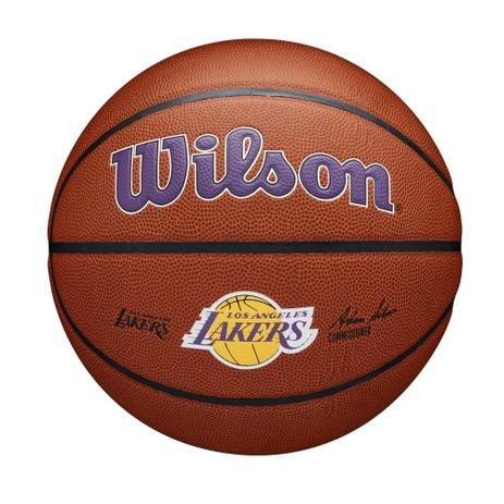 Bola Basquete NBA Team Alliance Los Angeles Lakers Size 7 Wilson  - PROTENISTA
