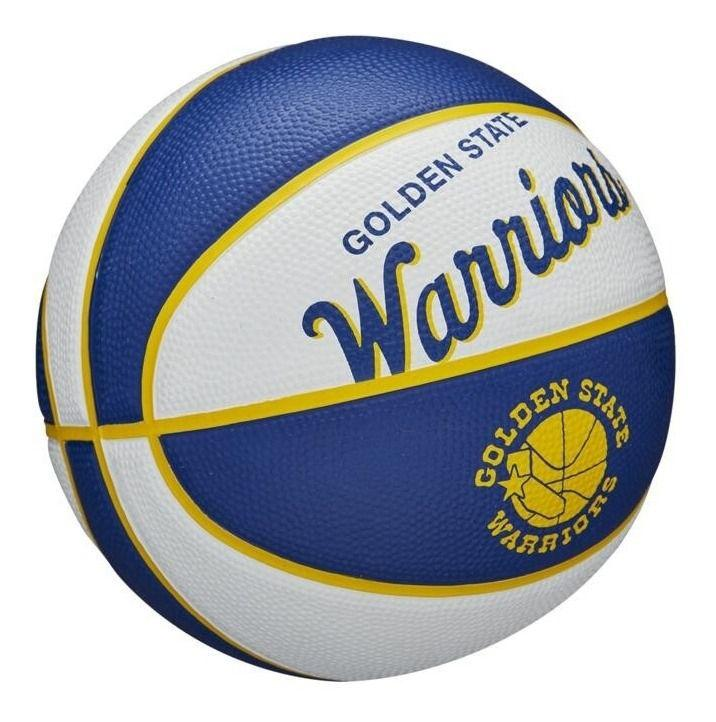 Bola de Basquete NBA Team Retrô Mini Golden State Warriors #3 Wilson  - PROTENISTA
