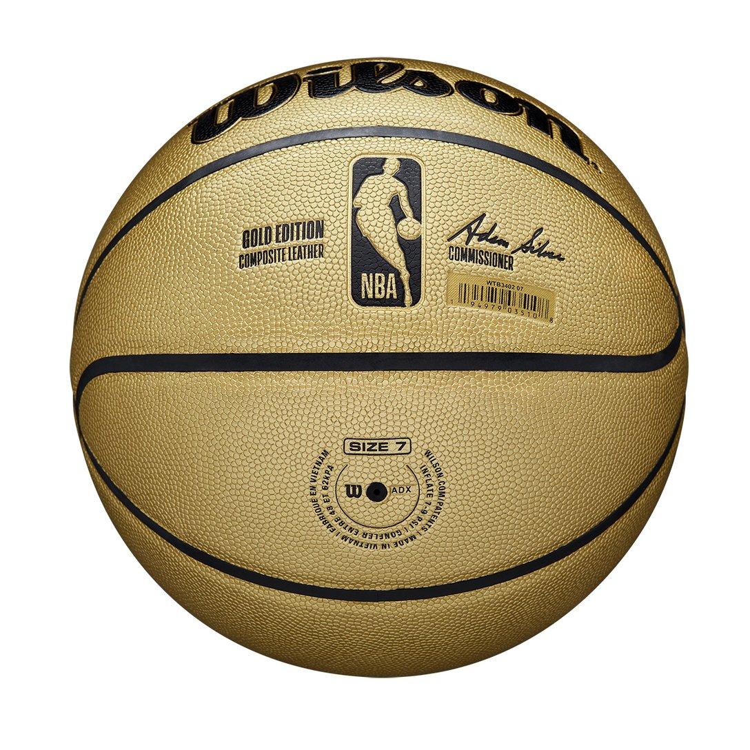 Bola de Basquete Wilson NBA Gold Edition - Oficial Nº 7  - PROTENISTA