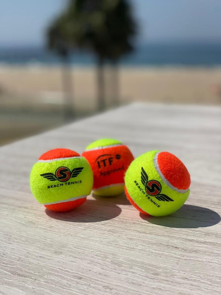 Bola de Beach Tennis Sexy Brand - 6 Bolas  - PROTENISTA
