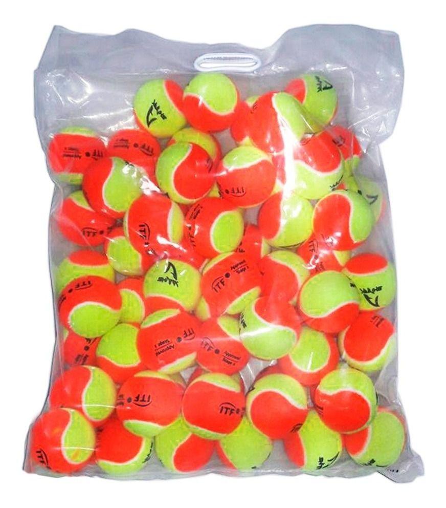 Bola de Beach Tennis Shark Saco Com 60 Unidades