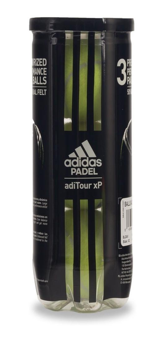 Bola de Padel Adidas Aditour - Tubo c/ 3 bolas