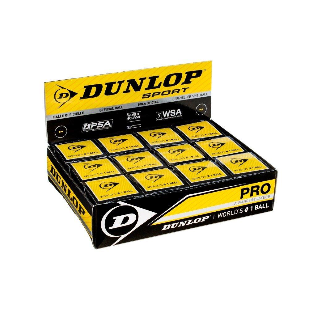Bola de Squash Dunlop Revelation Pro - 12 Bolas  - PROTENISTA