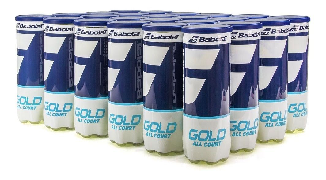 Bola de Tênis Babolat Gold All Court - Caixa c/ 24 Tubos