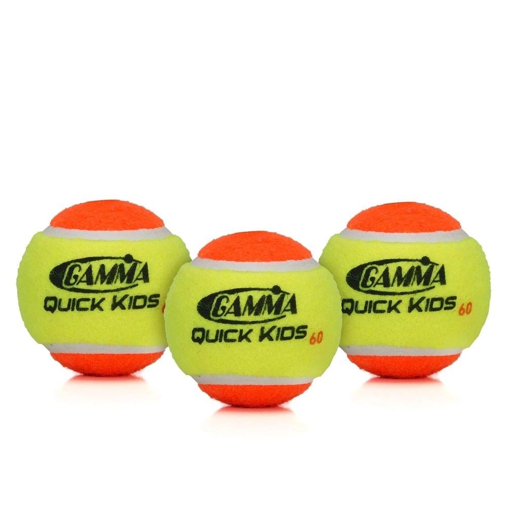 Bola de Tênis Gamma Quink Kids Vermelha Estágio 2  - PROTENISTA