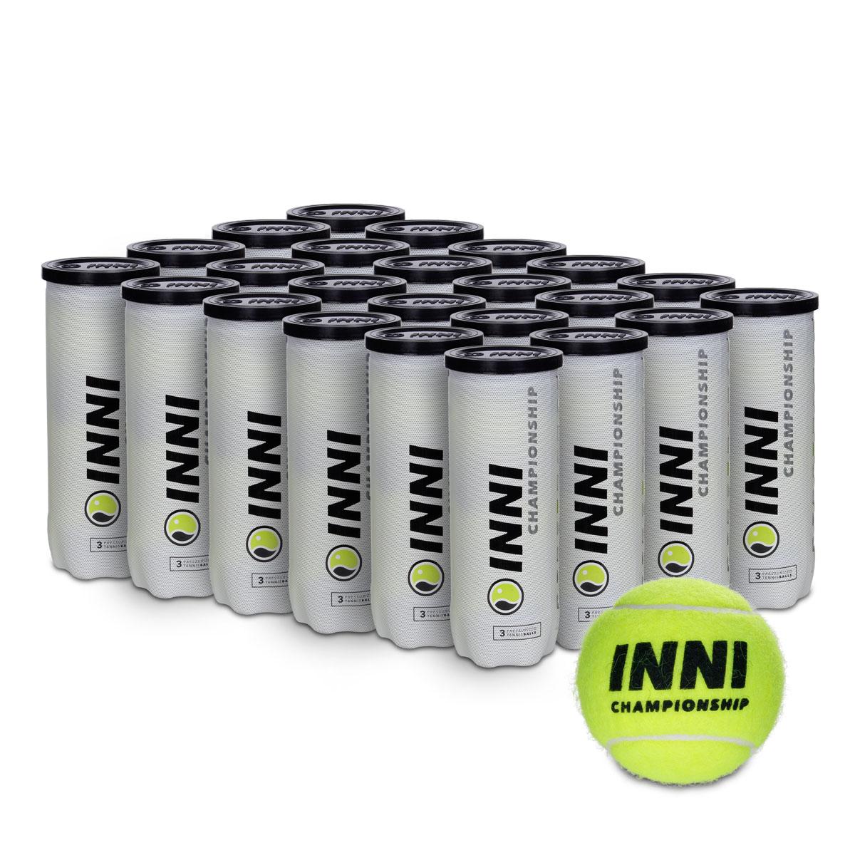 Bola de Tênis Inni Championship - Caixa com 24 Tubos  - PROTENISTA