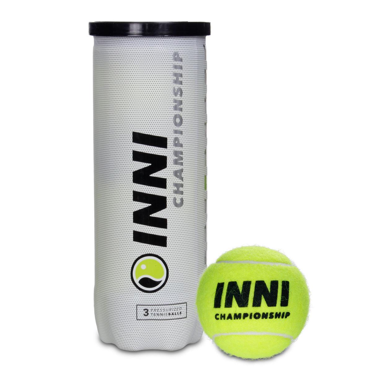 Bola de Tênis Inni Championship - Tubo com 3 bolas   - PROTENISTA