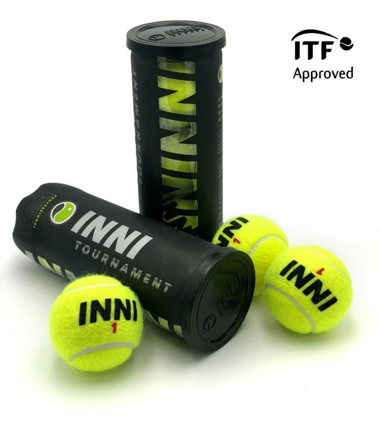 Bola de Tênis Inni Tournament - Pack com 04 Tubos