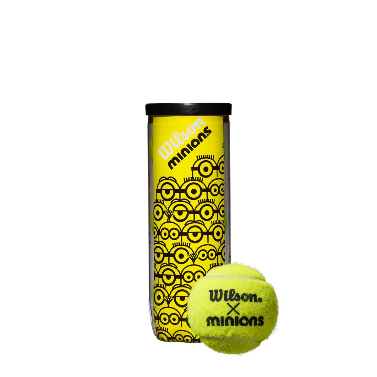 Bola de Tênis Minions Championship - Tubo com 3 bolas  - PROTENISTA