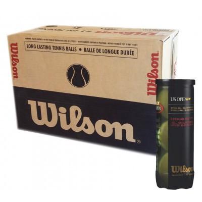 Bola de Tênis Wilson US OPEN - Regular Duty - Caixa c/24 Tubos  - PROTENISTA