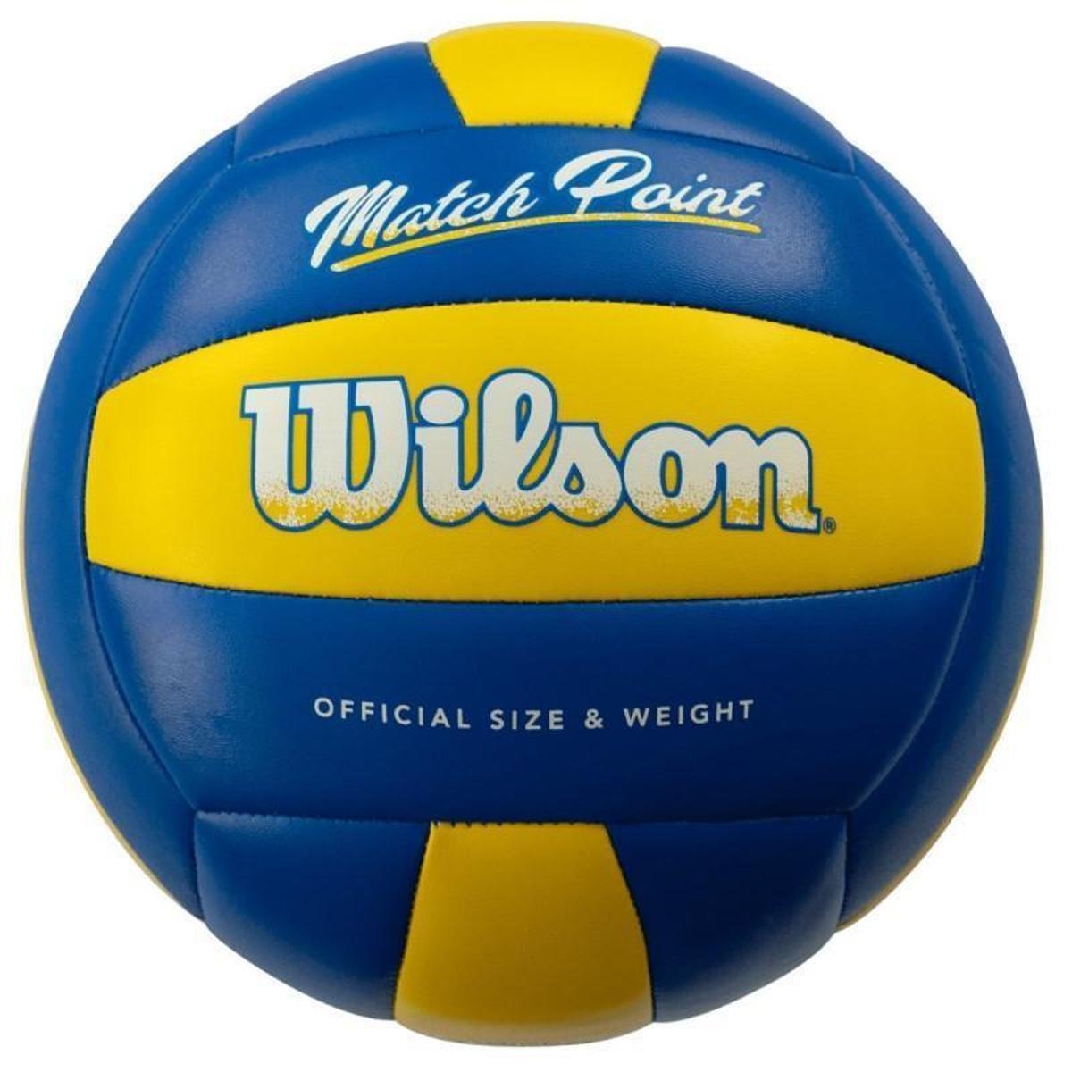 Bola Volei Wilson Matchpoint Azul e Amarelo  - PROTENISTA