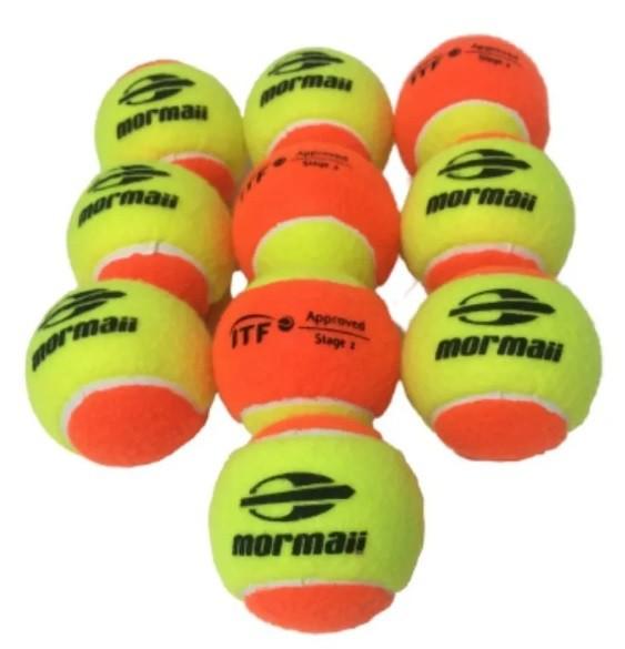Bolas De Beach Tennis Mormaii - Kit c/10 Bolinhas