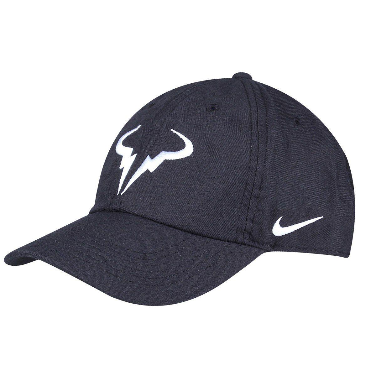 Boné Nike Aerobill Rafael Nadal - PRETO