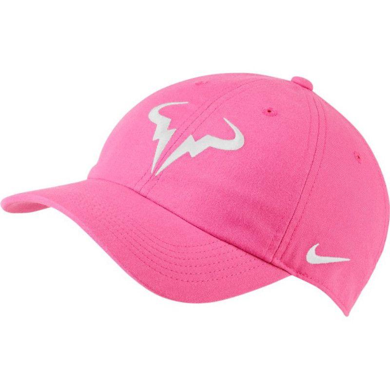 Boné Nike Aerobill Nadal - Rosa  - PROTENISTA