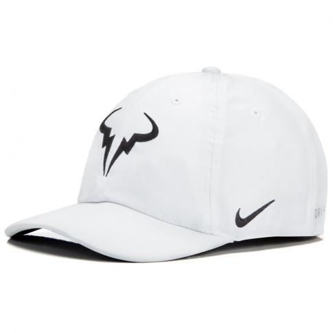 Boné Nike Rafael Nadal Aerobill H86 Branco  - PROTENISTA
