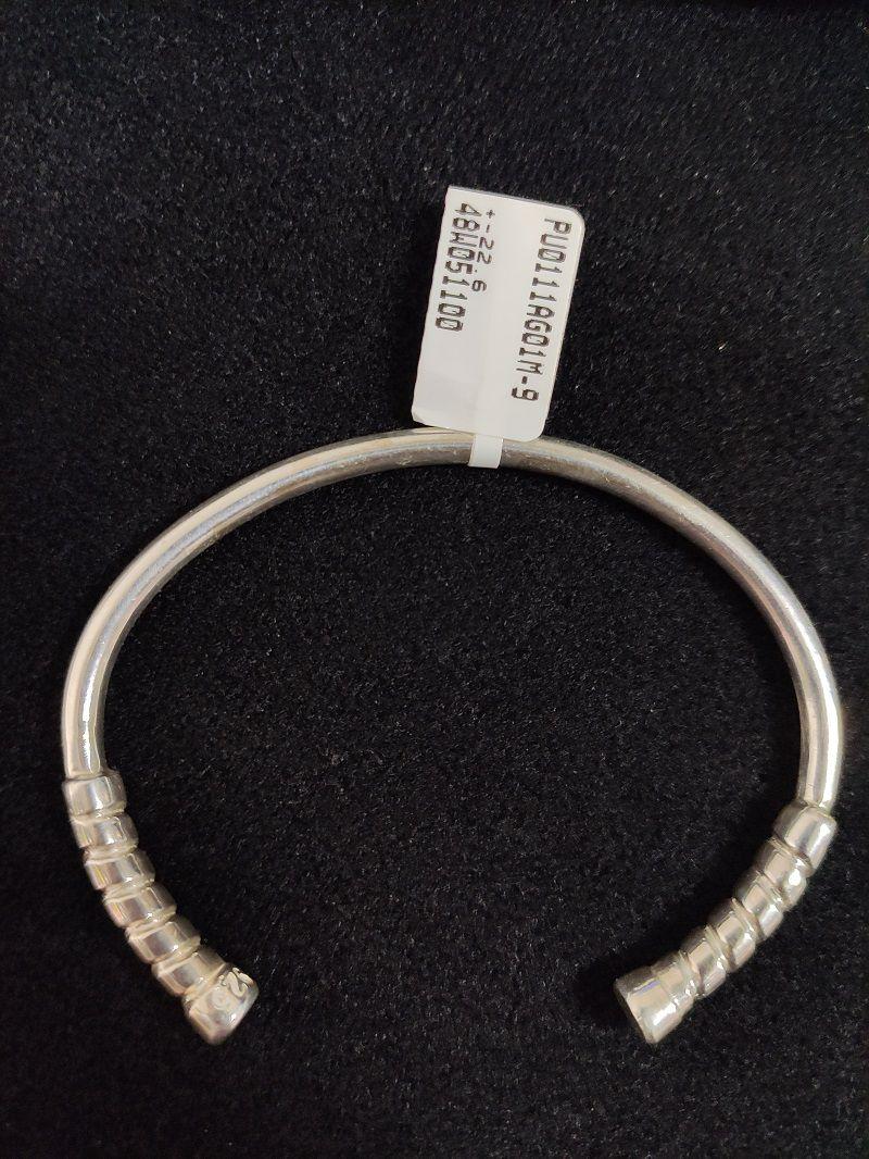 Bracelete Cabos de Raquetes em Prata