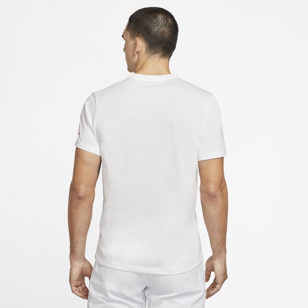 Camiseta NikeCourt Dri-FIT Rafael Nadal Rosa Masculina