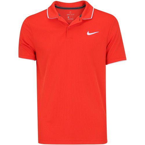 Camisa Polo Nike Dry Team Vermelha  - PROTENISTA