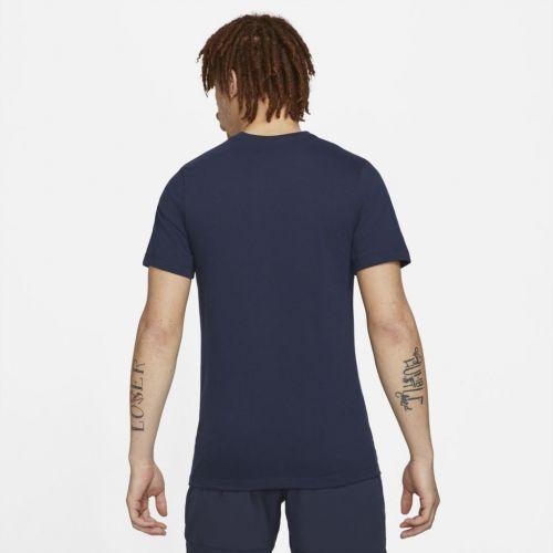 Camiseta Nike Court Rafael Nadal Clay Marinho  - PROTENISTA