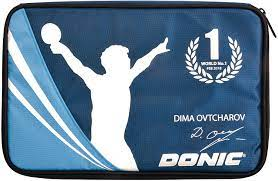 Capa Para Raquete Donic Cover Ovtcharov Plus (Blue)  - PROTENISTA