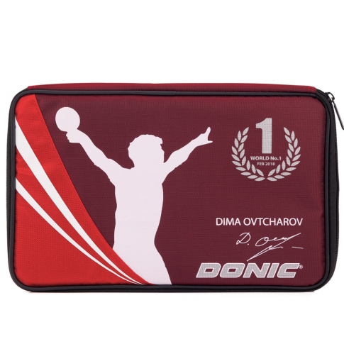 Capa Para Raquete  Donic Cover Ovtcharov Plus (Red)  - PROTENISTA