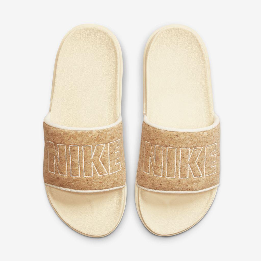 Chinelo Slide Nike Sportswear Offcourt Slide Se Bege  - PROTENISTA