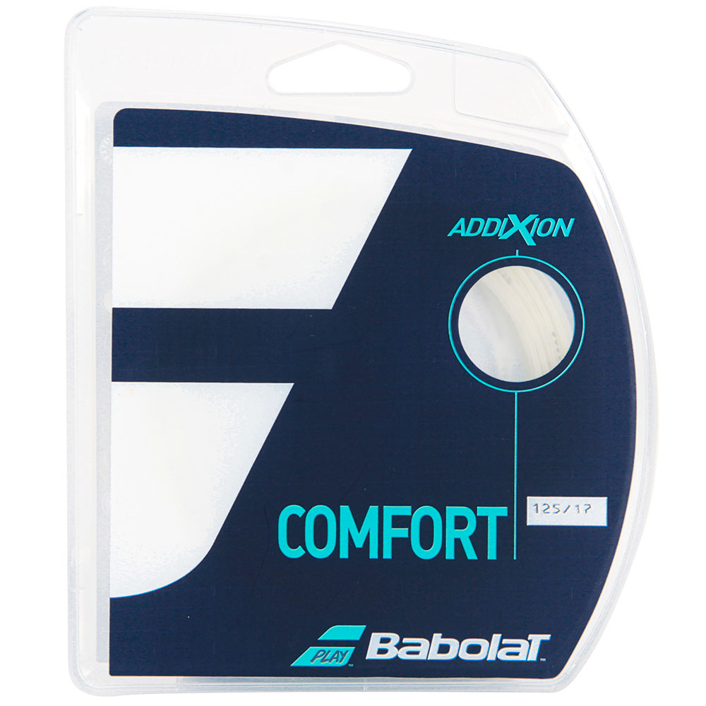 Corda Babolat Addixion 17L 1.25mm Natural - Set Individual  - PROTENISTA