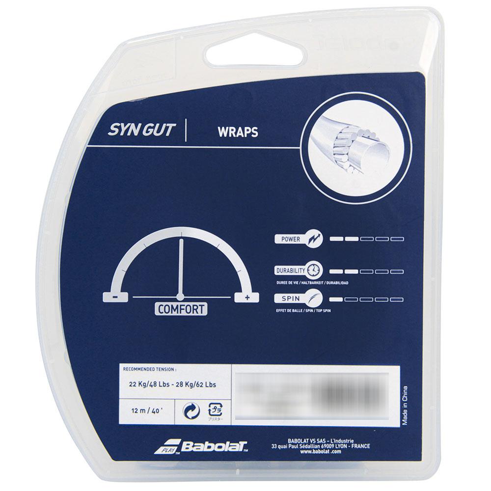 Corda Babolat Synthetic Gut 17L 1.25mm - Branca - Set Individual  - PROTENISTA