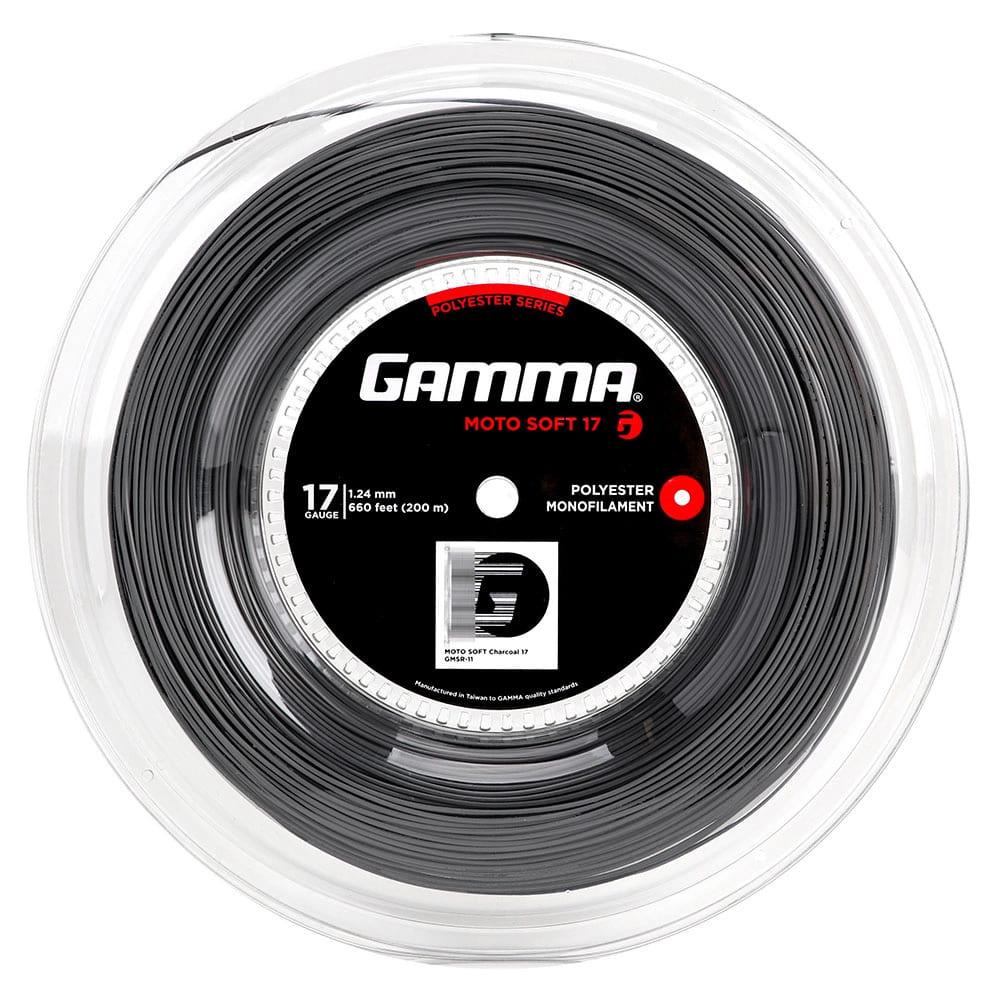 Corda Gamma Moto Soft 17L 1.24mm Cinza - Rolo com 200 Metros  - PROTENISTA