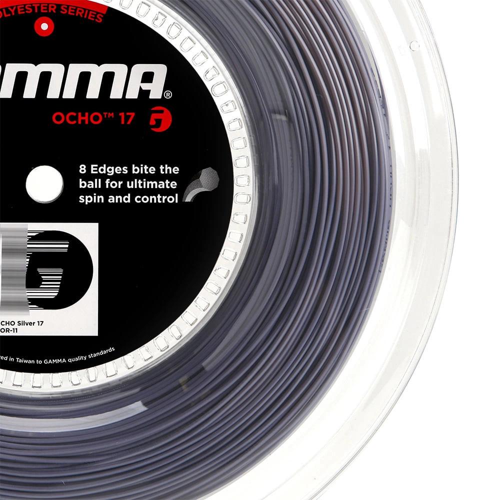 Corda Gamma Ocho 17L 1.25mm Prata - Rolo com 200 metros  - PROTENISTA