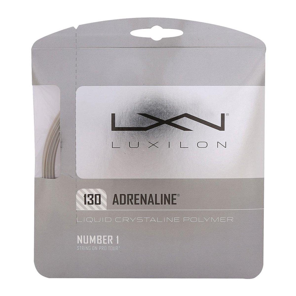 Corda Luxilon Adrenaline 1.30mm Cinza - Set Individual  - PROTENISTA