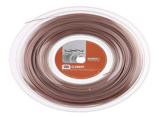 Corda Luxilon Element 16L 1.25mm Marrom - Rolo com 200m  - PROTENISTA