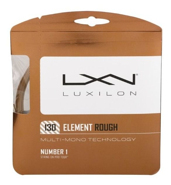 Corda Luxilon Element Rough 16L 1.30mm Cobre - Set Individual