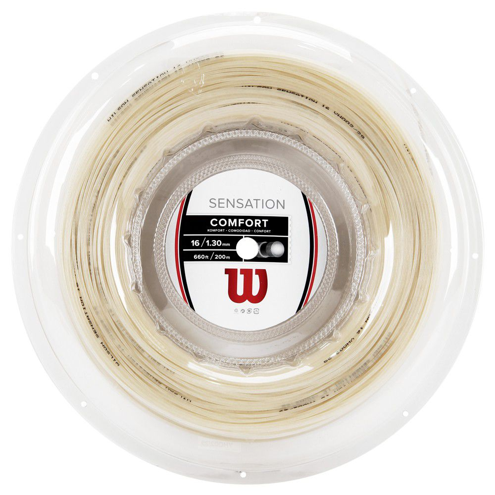 Corda Wilson Sensation Comfort 130 - 16 - Rolo 200mts  - PROTENISTA