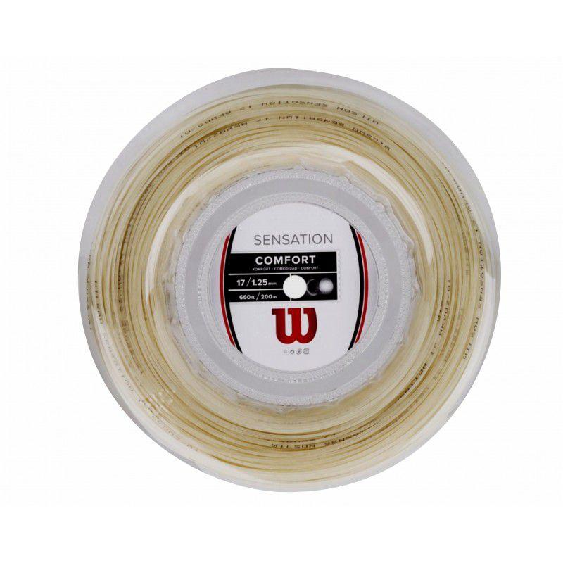 Corda Wilson Sensation Natural 17L 1.25mm Rolo com 200m  - PROTENISTA