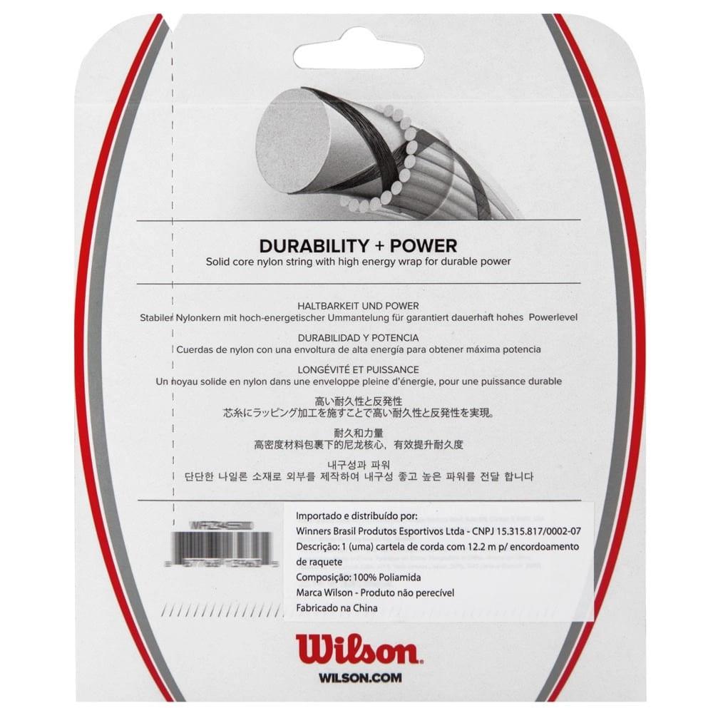Corda Wilson Synthetic Gut Power 17L 1.25mm - Set Individual  - PROTENISTA