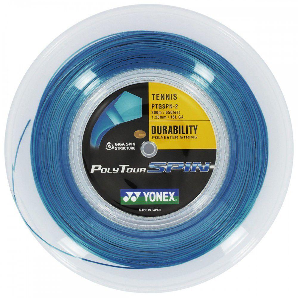 Corda Yonex Poly Tour 1.25mm  - 16L - Rolo 200mts  - PROTENISTA