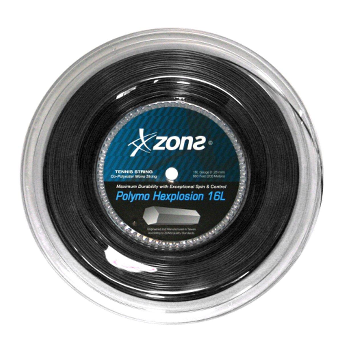 Corda Zons Hexplosion 16l 1.28mm - Rolo Com 200 Metros  - PROTENISTA