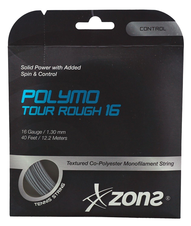 Corda Zons Polymo Tour Rough 16 1.30mm 12.2m Copolímero Prata - Set Individual  - PROTENISTA