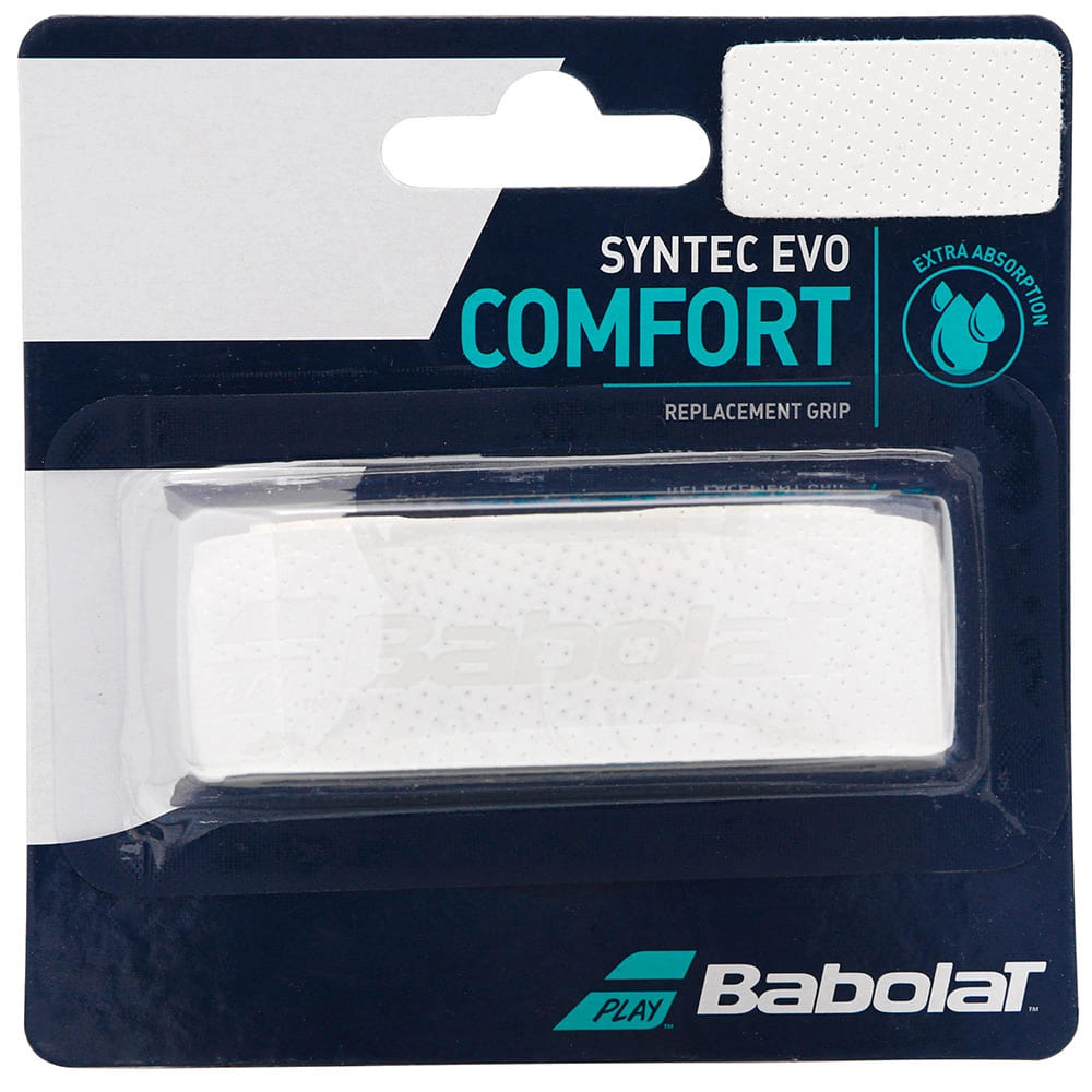 Cushion Grip Babolat Syntec Evo Branco  - PROTENISTA