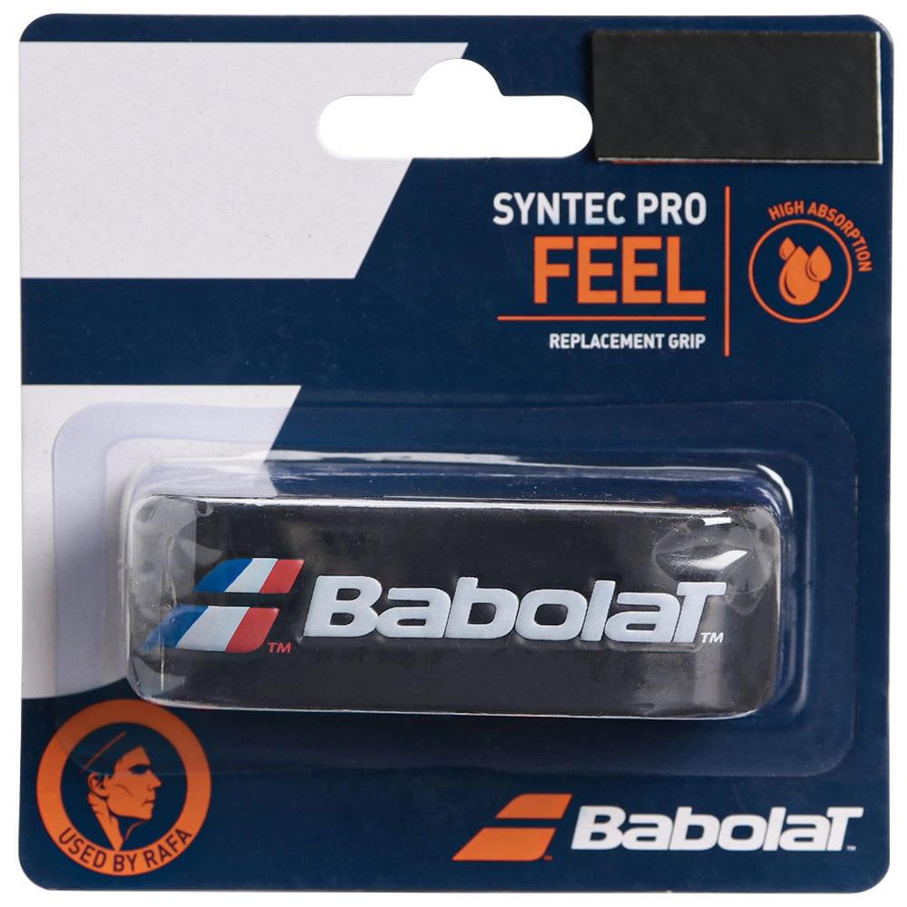 Cushion Grip Babolat Syntec Pro Feel Preto/Branco/Vermelho  - PROTENISTA