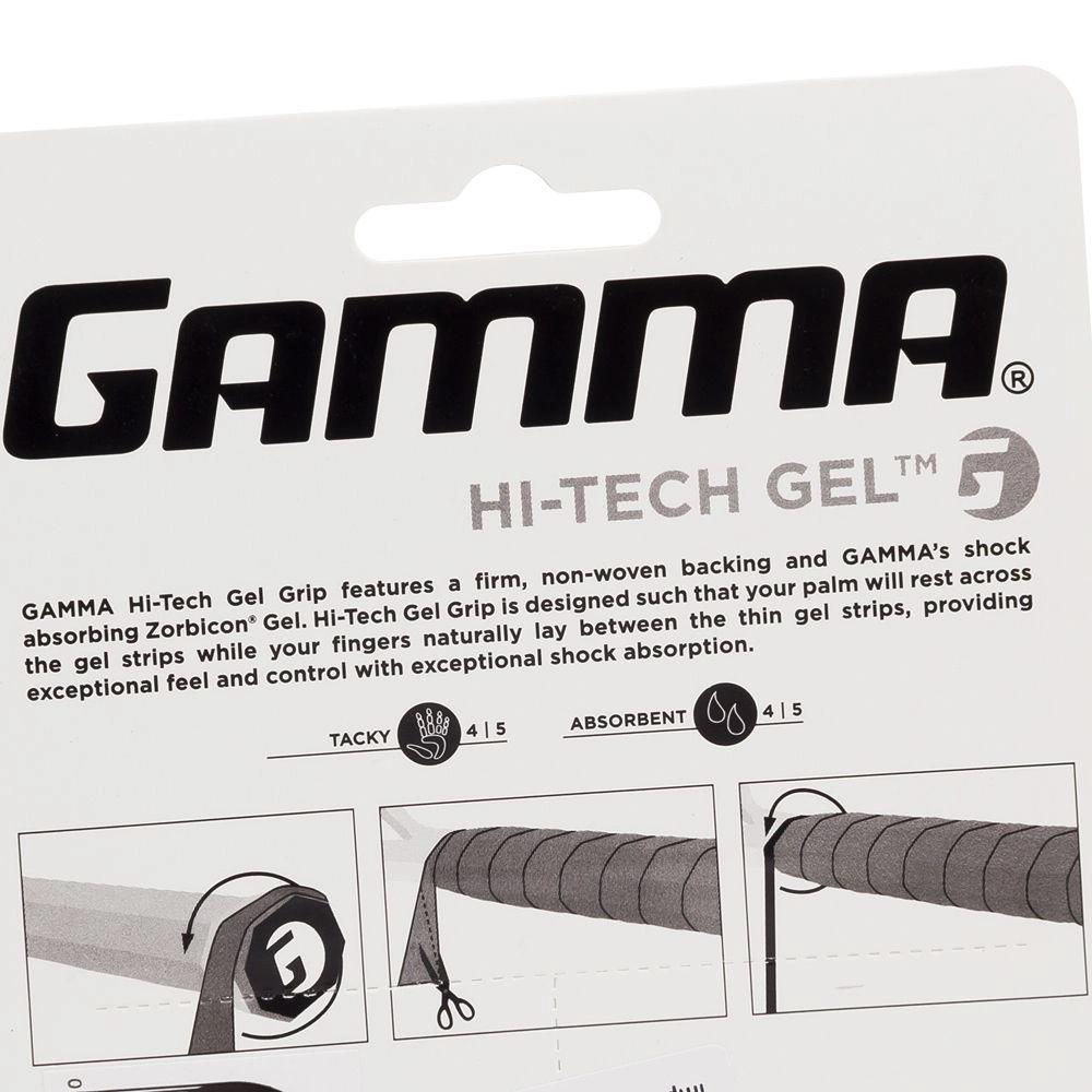 Cushion Grip Gamma Hi-Tech Gel Preto  - PROTENISTA