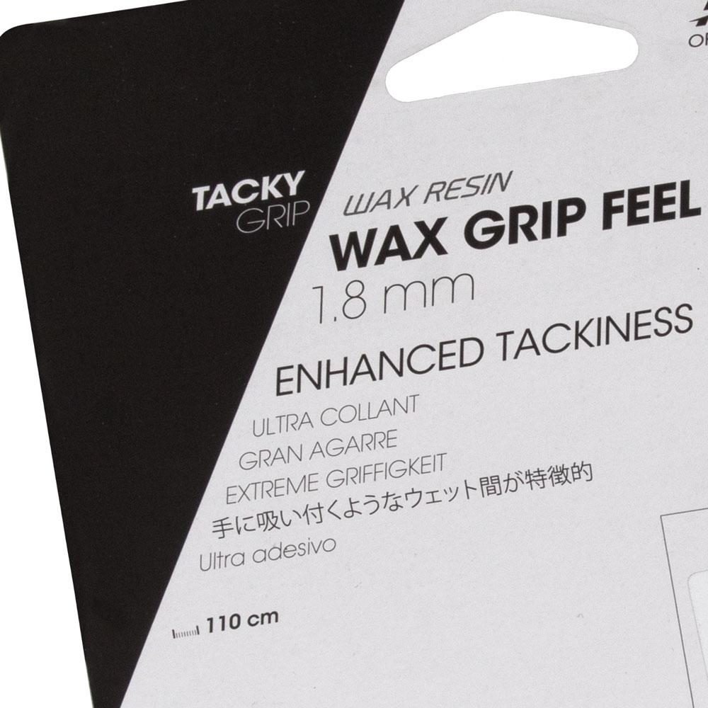 Cushion Grip Tecnifibre Atp Wax Feel Preto - 1.8mm  - PROTENISTA