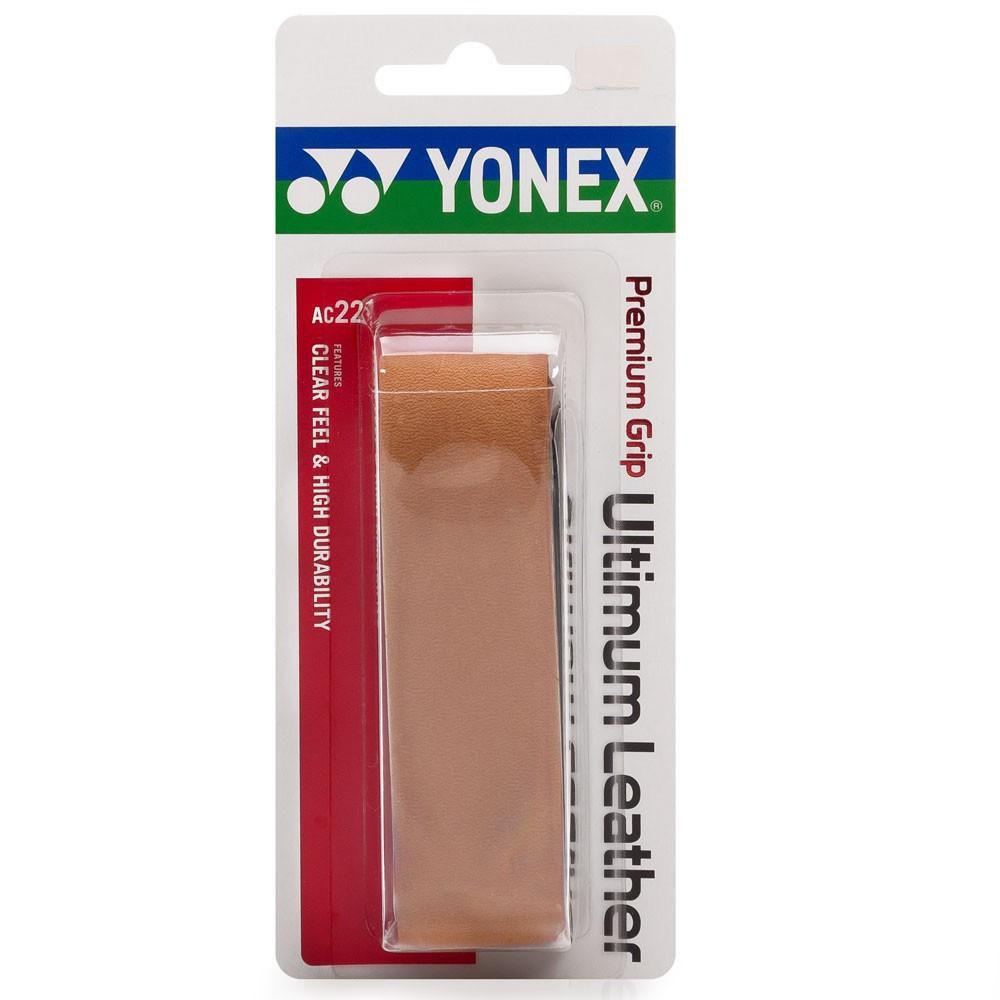 Cushion Grip Yonex Premium Ultimum Leather Ac221 Couro  - PROTENISTA