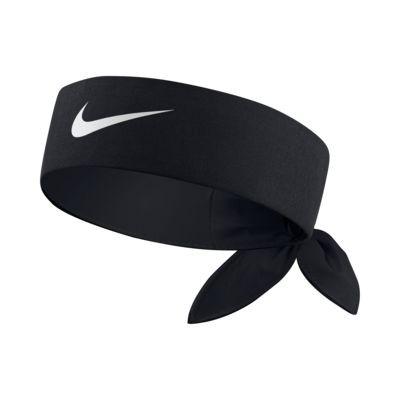 Faixa Cabelo Nike Dri-Fit Head Tie 2.0 - Preto e Branco  - PROTENISTA