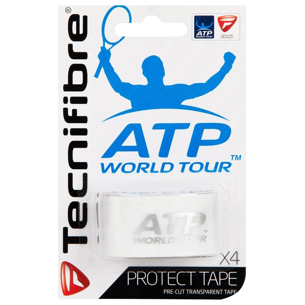 Fita Protetora Tecnifibre Protect Tape Transparente - Com 4 unidades  - PROTENISTA