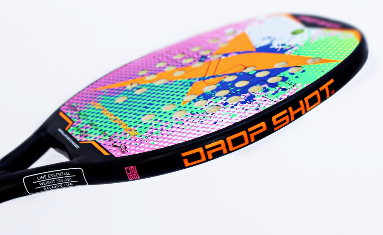 Kit com 2 Raquetes de Beach Tennis Drop Shot Katana - EXCLUSIVA  - PROTENISTA