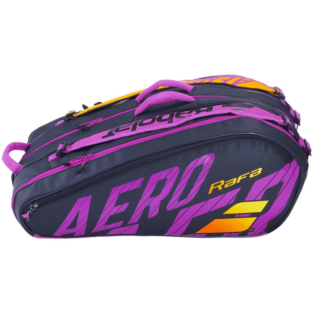Kit Pure Aero Rafa - Raquete Pure Aero Rafa 2021 + Raqueteira X12 Pure Aero Rafa  - PROTENISTA